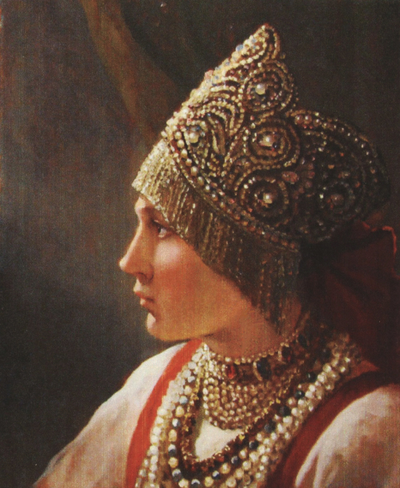 Русская красавица. Автор: Андрей Шишкин.